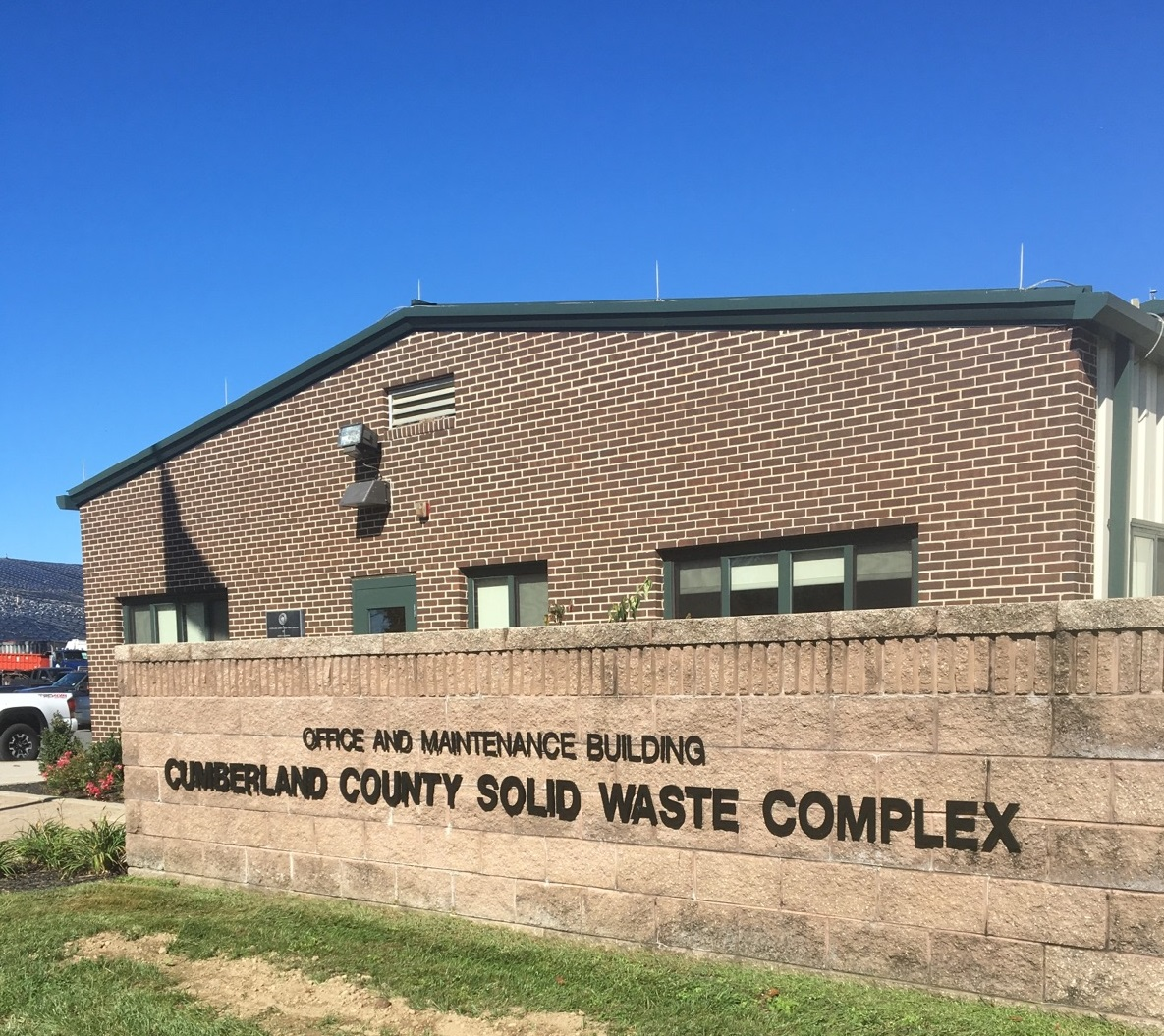 Cumberland County Solid Waste Facility - Exterior Building Refinishing
